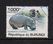 Burundi 2011, 1000 Francs, Hippo, Vfu - Burundi