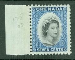 Grenada: 1953/59   QE II    SG199     7c    MH - Grenada (...-1974)