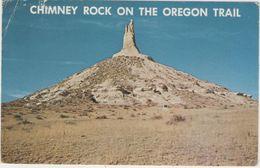 CPSM:  Chimney Rock On The Oregon Trail (états-unis)    (D2152) - Etats-Unis