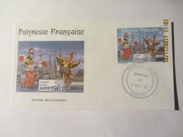 """Enveloppe 1er Jour POLYNESIE FRANCAISE """" BANGKOK """" - Frans-Polynesië"""
