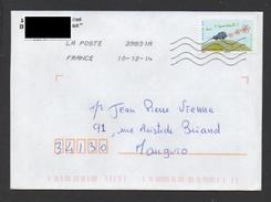 DF / FRANCE SUR LETTRE / AUTOADHÉSIF 975 / ENVIRONNEMENT / VIVE L' ECOCONDUITE - France