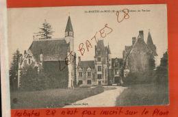 CPA 49   ST-MARTIN DU BOIS  Le Château Du Percher   Nov 2017 119 - Frankreich