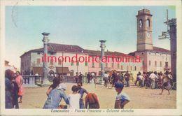 Ag190 - Cesenatico - Piazza Pisacane-colonne Storiche - Rimini