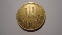 MONNAIE COSTA RICA 10 COLONES 1997 - Costa Rica