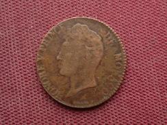 MONACO Monnaie De 5 Centimes 1837 - Mónaco