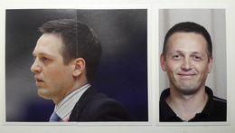 Slovenia Basketball Cards Stickers Nr.149, 152-153 Coach Aleksander Sekulic EUROBasket 2013 - Stickers