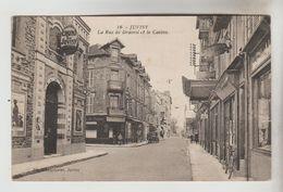 CPSM JUVISY SUR ORGE (Essonne) - La Rue De Draveil Et Le Casino - Juvisy-sur-Orge