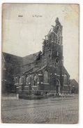 Ans  L'Eglise 1915 (plie Au Milieu) - Ans