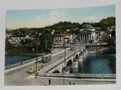 TORINO - Ponte Vittorio Emanuele I - Chiesa Della Gran Madre Di Dio - Animata - Tram / Filobus - Bridges
