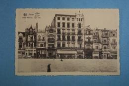 Heyst S/Mer Hôtel Astoria Lion D'Or - Heist