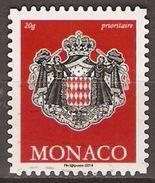MONACO   -  2014 .  Y&T N° 2945 Oblitéré.   Armoiries. - Monaco