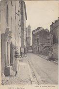 20 Haute Corse   Corte     Une Rue Et Le Clocher - Corte