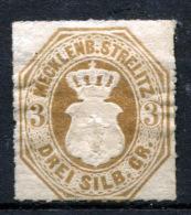 MECKLENBURG-STRELITZ 1864 - Mi.6 (Sc.6) MH (VF) - Mecklenburg-Strelitz