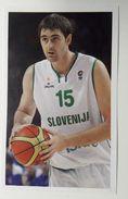 Slovenia Basketball Cards Stickers Nr.136 Erazem Lorbek - Stickers