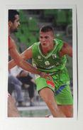 Slovenia Basketball Cards Stickers Nr. 129 Edo Muric - Stickers