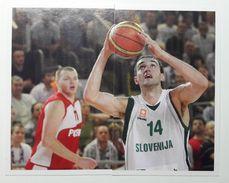 Slovenia Basketball Cards Stickers Nr. 137-138 Mirza Begic Slovenia Russia EUROBasket - Stickers