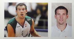 Slovenia Basketball Cards Stickers Nr. 101, 104-105 Beno Udrih NBA Player - Stickers