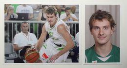 Slovenia Basketball Cards Stickers Nr. 103, 107-108 Zoran Dragic - Stickers