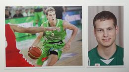 Slovenia Basketball Cards Stickers Nr. 110, 113-114 Jaka Blazic - Stickers
