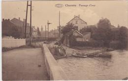 CHERATTE-PASSAGE D'EAU-EDIT.N.DOSSIN-ENVOYEE-1939-VOYEZ LES 2 SCANS-RARE ! ! ! - Visé