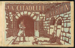VERDUN - Carnet La Citadelle De VERDUN - 20 Cartes Complet  VERDUN Editions-  Paypal Sans Frais - Verdun