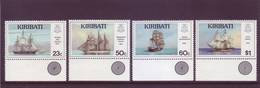 Kiribati 1996 - Navi, 4v MNH** Integri - Kiribati (1979-...)