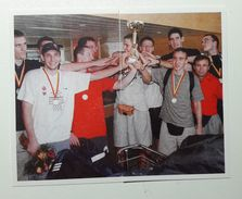 Slovenia Basketball Cards Stickers Nr.83-84 Slovenia U20 European Champions 2000 & 2004 - Unclassified