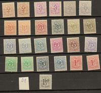 Belgie - Belgique Ocb Nr :  Lot DOF Papier Met Kleurnuances !! ** MNH   (zie  Scan)  Oa 856 858a - 1951-1975 León Heráldico