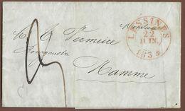_6Rv-979: Briefstuk (zonder Inhoud) : Verstuurd Uit LESSINES 22 JUIN 1934 > Hamme - 1830-1849 (Belgique Indépendante)