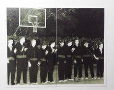 Slovenia Basketball Cards Stickers Nr. 64-65 Olimpija Real Madrid 1962 Outdoor Tivoli Playground - Stickers