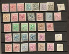 Belgie - Belgique Ocb Nr :  Lot FOSFOR , WP En P  ** MNH   (zie  Scan) - 1951-1975 León Heráldico