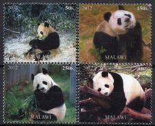 Faune, Pandas - 4 Timbres Neufs 2012 // Mnh - Bears