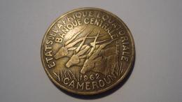 MONNAIE CAMEROUN 25 FRANCS 1962 - Cameroon