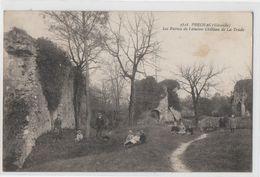 PRECHAC LES RUINES DE L ANCIEN CHATEAU DE LA TRADE - France