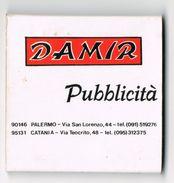 Italia - Fiammiferi Pubblicitari - DAMIR - SAFFA Stab. Di Magenta Minerva - Scatole Di Fiammiferi
