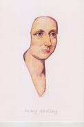 C1 Carte Postale DESSIN JULLIAN Auteur SF MARY SHELLEY Auteur FRANKENSTEIN - Ecrivains