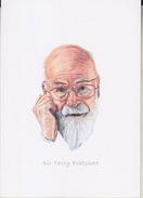 C1 Carte Postale DESSIN JULLIAN Auteur SF Sir Terry PRATCHETT - Ecrivains