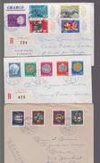 Suisse- Lot De 54  Enveloppes Période 1960/90  Voir  17 Scans - Suisse