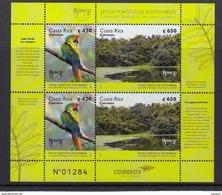 COSTA RICA 2017 UPAEP NATURAL PARKS - Costa Rica