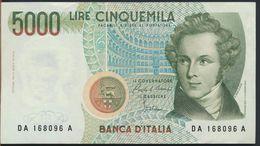 °°° ITALIA - 5000 LIRE BELLINI 31/01/1985 SERIE DA °°° - [ 2] 1946-… : Républic