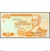 TWN - BOLIVIA 239A - 20 Bolivianos 28.11.1986 (2013) Serie I - Printer: DLR UNC - Bolivia
