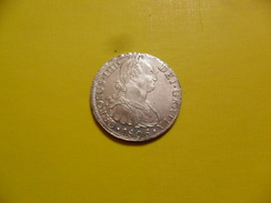 España: 8 Reales Plata Ceca Lima 1806  BC . 26,26g - Erstausgaben