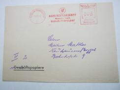 1942  ,  Berlin   , Glasklarer Firmen - Freistempel  Auf   Brief - Deutschland