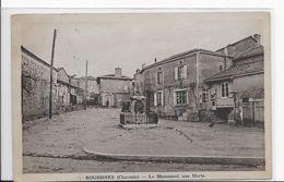16  ROUSSINES  LE MONUMENT AUX MORTS   ECRITE 1940 TIMBREE  BON ETAT 2 SCANS - Francia