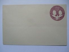 USA 1892 COLUMBUS COVER 2 CENTS UNUSED - 1847-99 General Issues