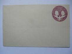 USA 1892 COLUMBUS COVER 2 CENTS UNUSED - 1847-99 Emissions Générales