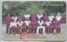 ANTIGUA & BARBUDA - 1996 WEST INDIES CRICKET TEAM - 222CATA - - Antigua And Barbuda