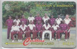 ANTIGUA & BARBUDA - 1996 WEST INDIES CRICKET TEAM - 231CATA - - Antigua And Barbuda