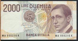 °°° ITALIA - 2000 LIRE G. MARCONI 24/10/1990 SERIE MA °°° - [ 2] 1946-… : Républic