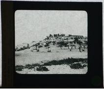 Plaque De Verre - Algérie - Vue De Béni Abbès - Ch. De Foucauld - Maison Bonne Presse Rue Bayard - 10 X 8,5 Cm - Glasdias